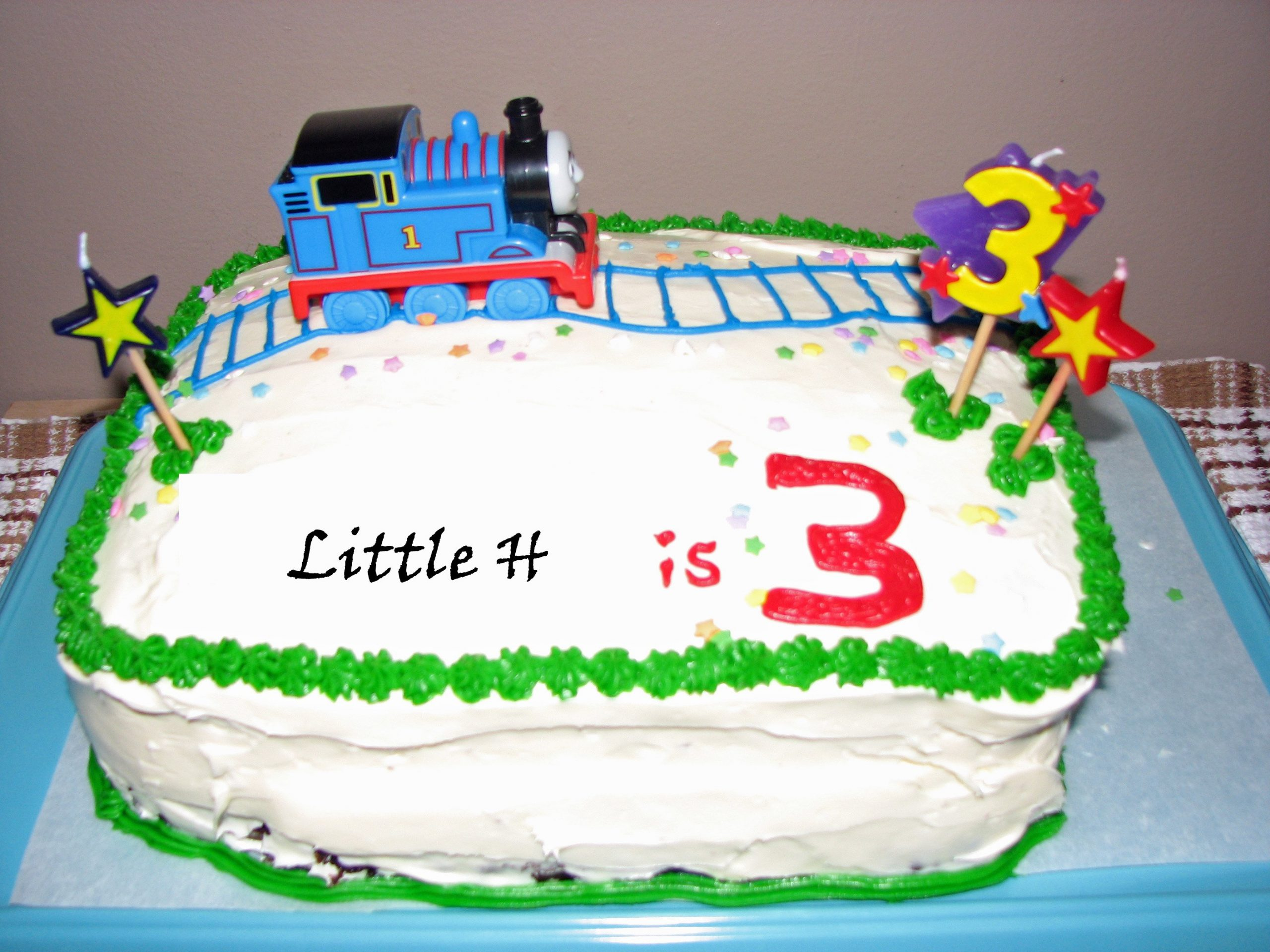 Cake Images Of Thomas The Train : How to Not Make a Thomas the Train Cake