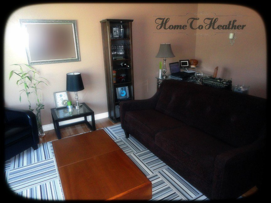 Living Room Makeover After