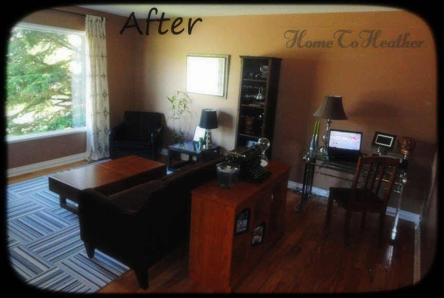 Living Room Makeover – After