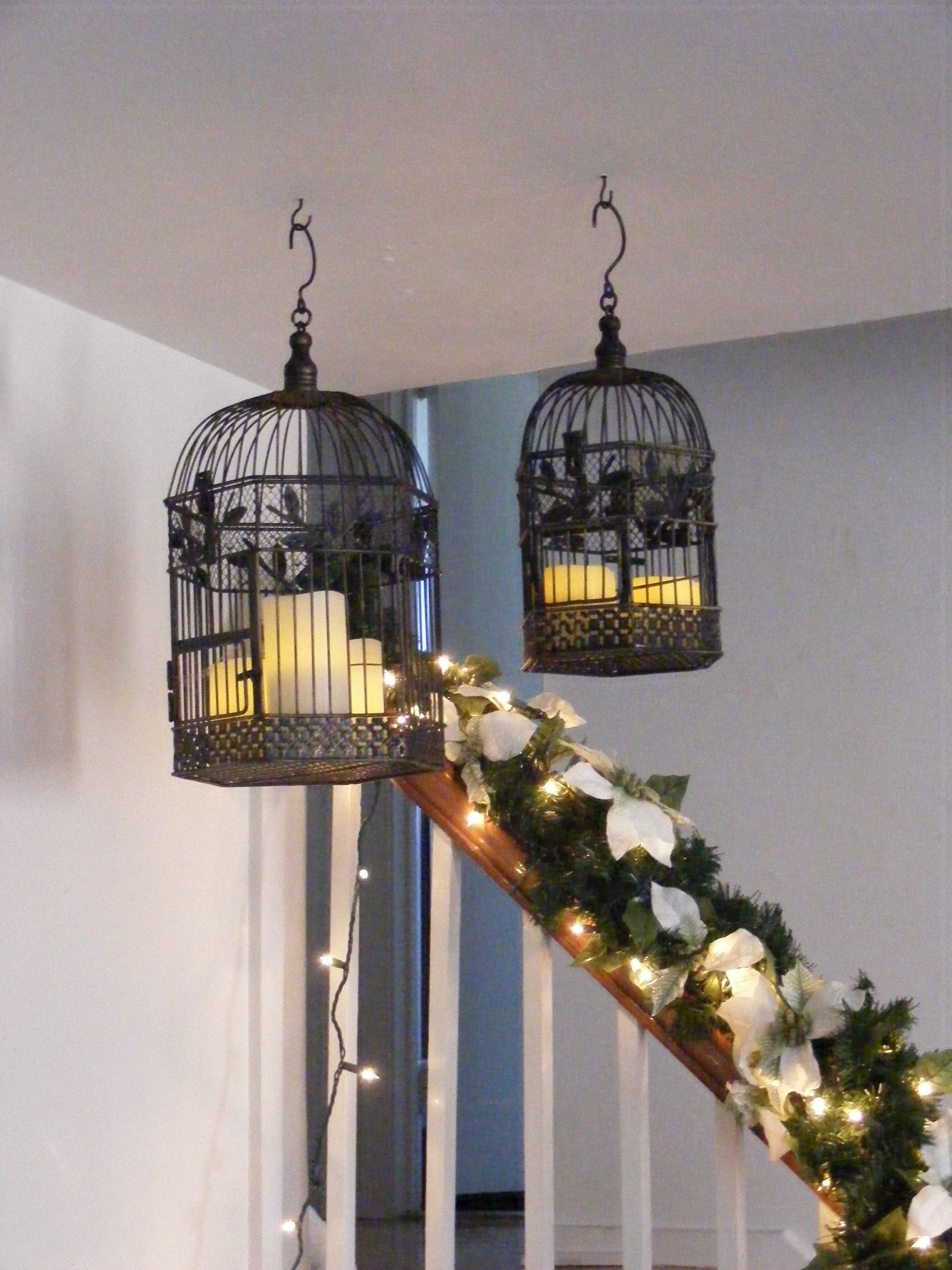 birdcage lamp candles