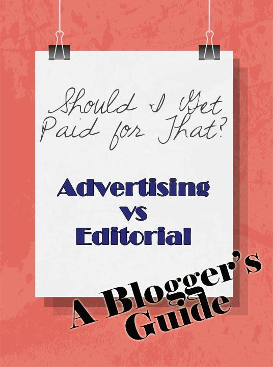 Should I Get Paid for That?  A Bloggers Guide