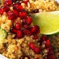 Citrus Pomegranate Quinoa Salad