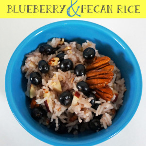 blueberry pecan rice