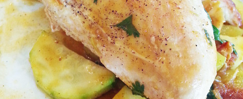 Zesty Cilantro Lime Chicken #Paleo #grainfree #glutenfree