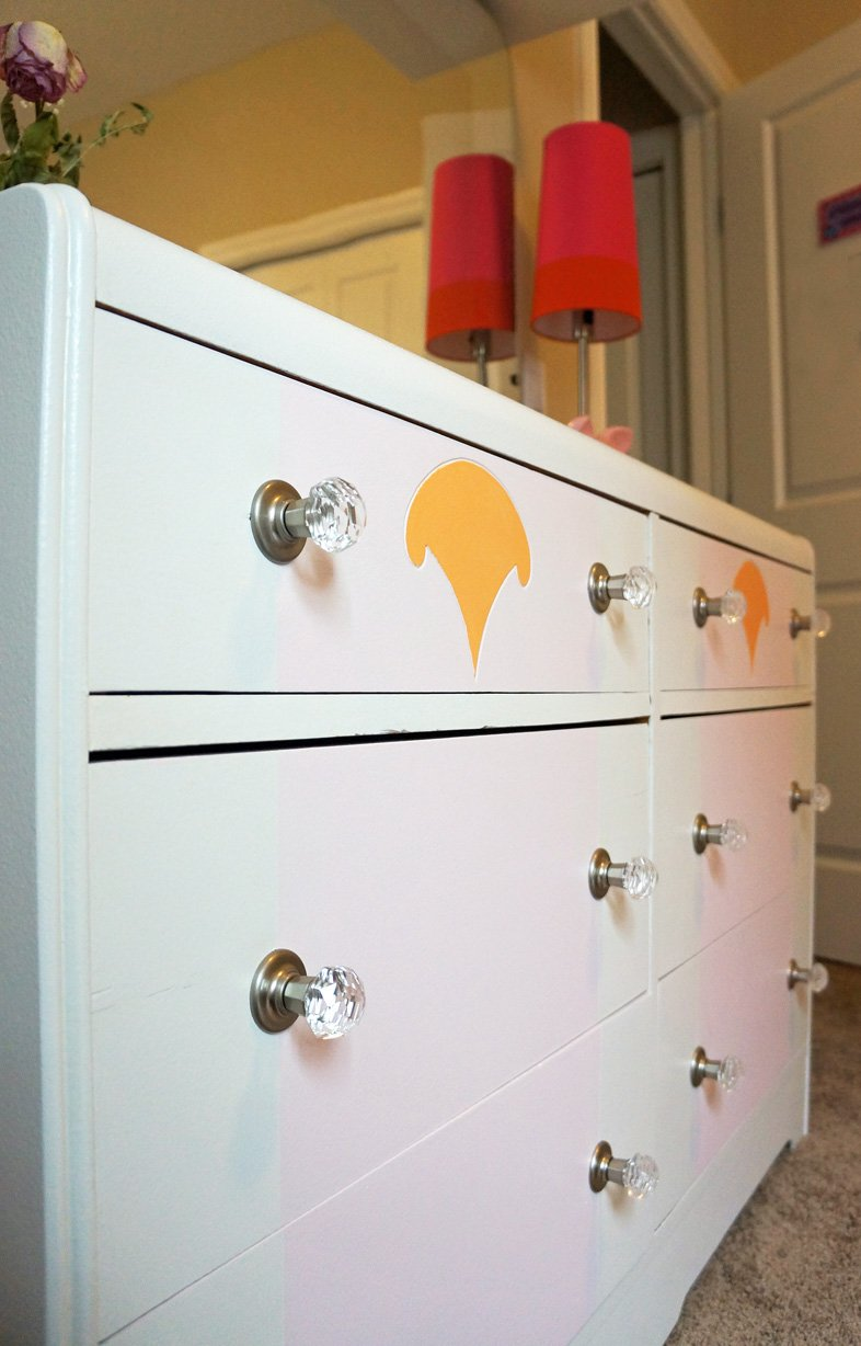 how to paint an old dresser