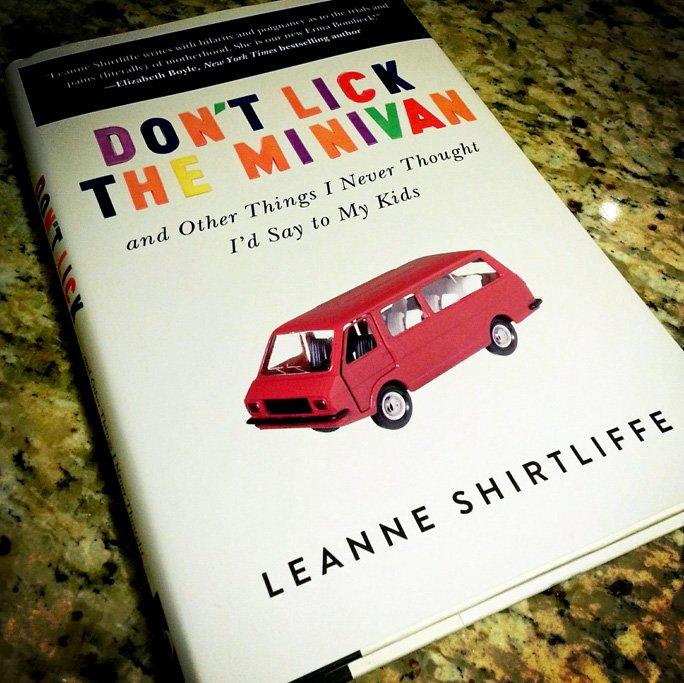 lick the minivan