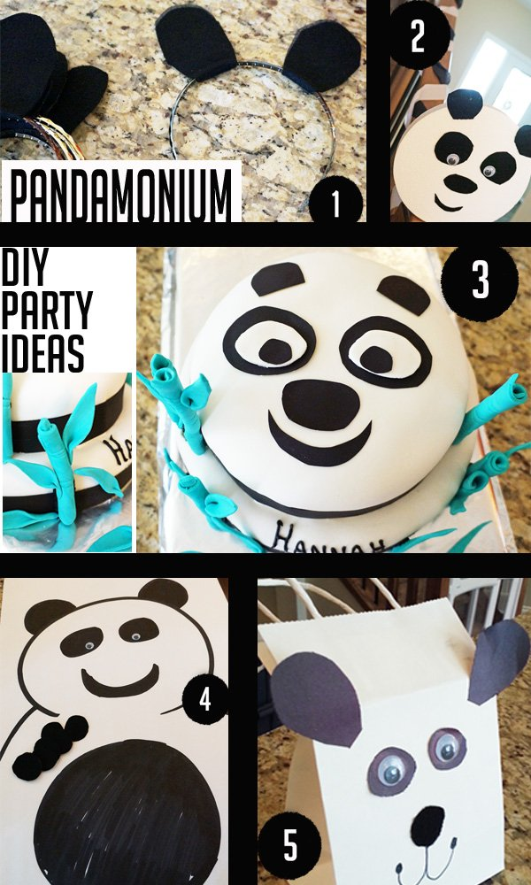 Easy panda party ideas to DIY on a dollar store budget!