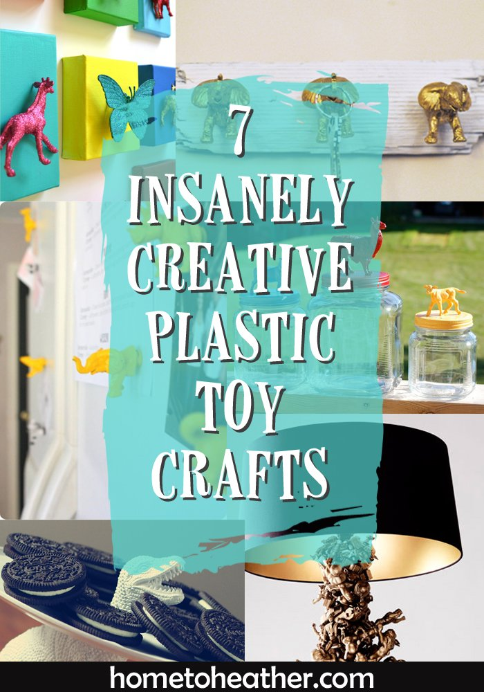 plastic toy crafts