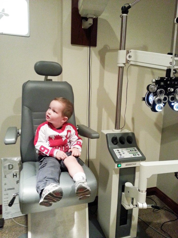 at the eye dr