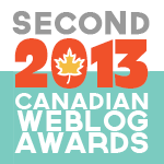 2013 Canadian Weblog Awards winners