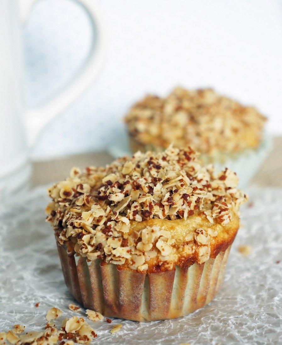 banana oat muffins gluten free