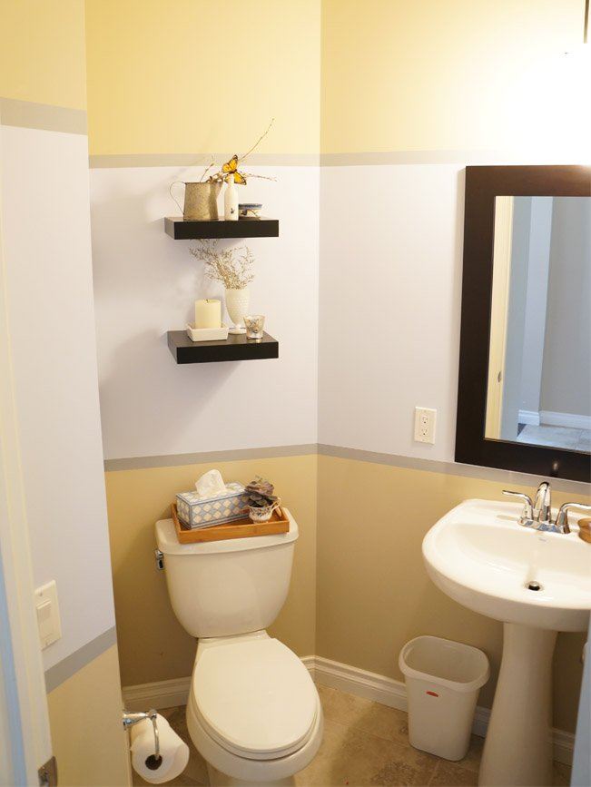 powder room after