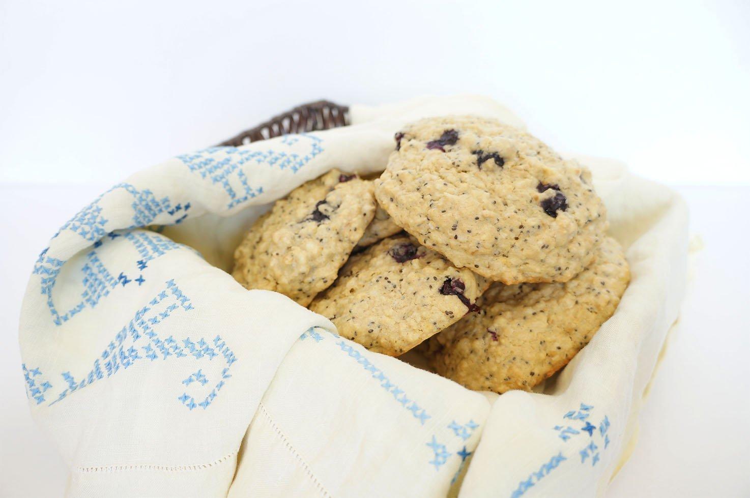 Blueberry Lemon breakfast cookie #glutenfree