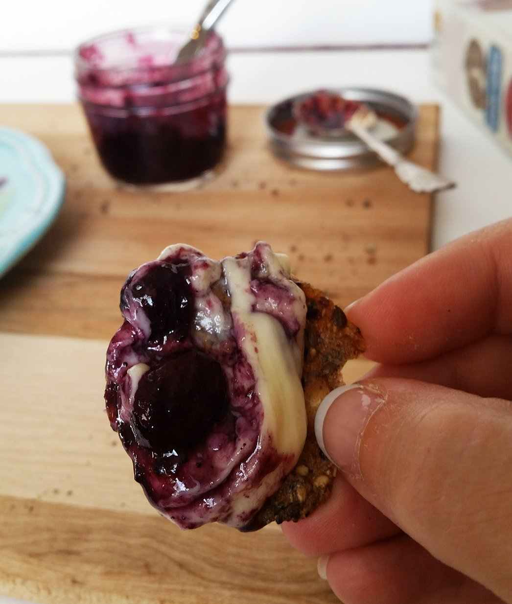 bluberry onion chutney