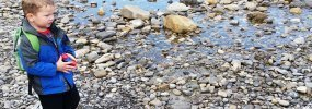 rock hunting bragg creek