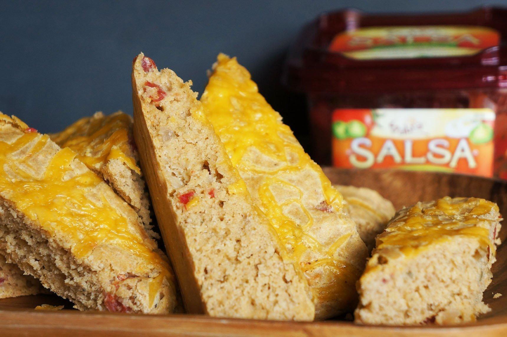 Gluten Free Focaccia Salsa Bread