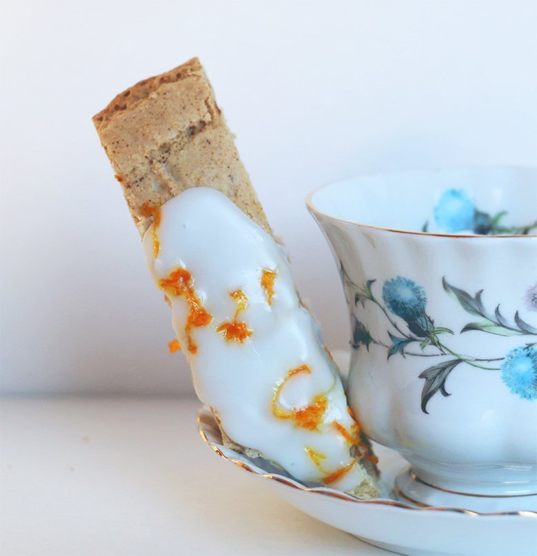 gluten free orange spice biscotti