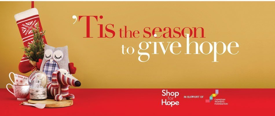 Shop for Hope with Winners and HomeSense