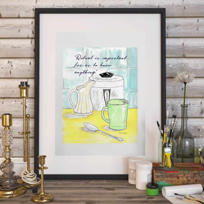 Coffee Bar Free Printable Art