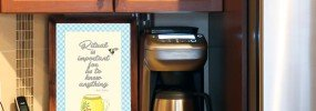 free coffee bar printable