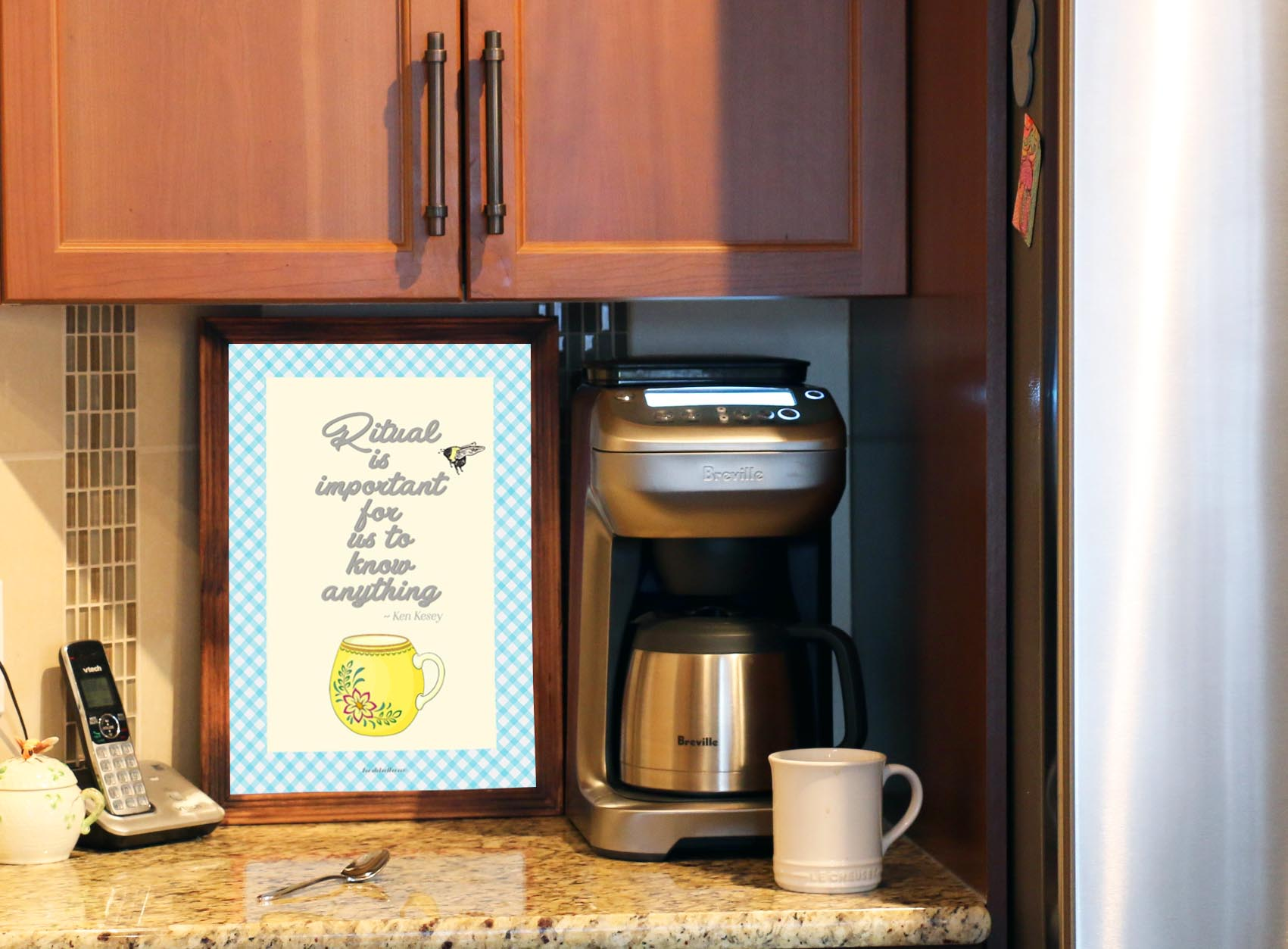 Coffee Bar Free Printable Art