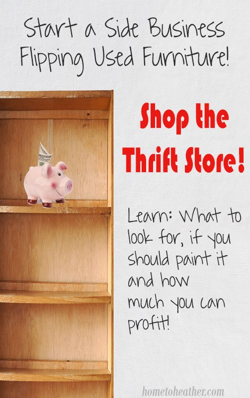 what to look for at the thrift store to resell