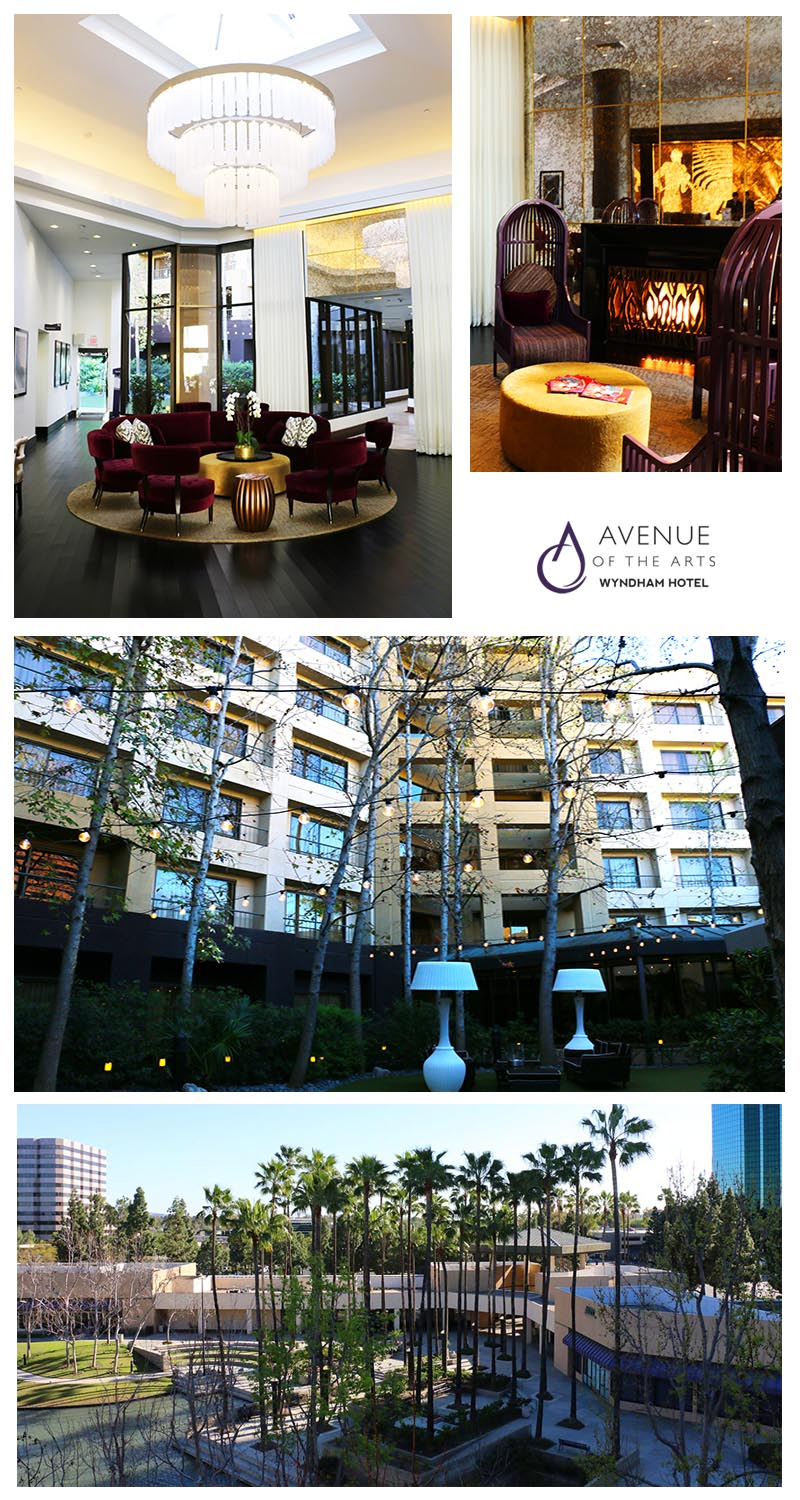 avenue of the arts wyndham hotel costa mesa