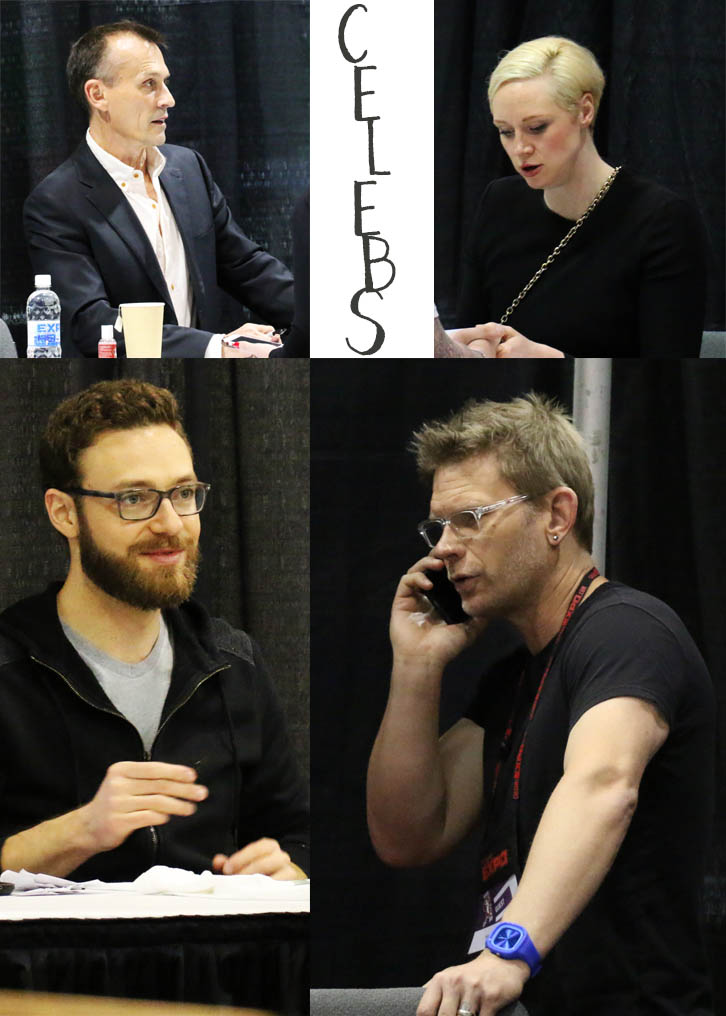 Celebrities at Calgary Expo