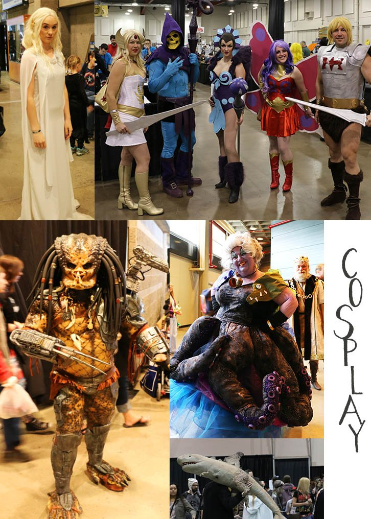 Cosplayers at Calgary Expo