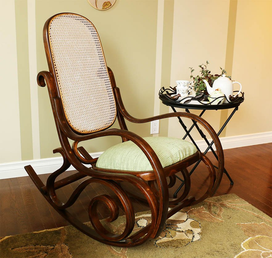 vintage rocking chair restoration