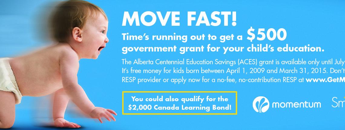 Move Fast! Alberta Ed Grant Cancelled!