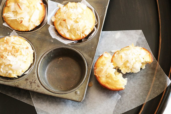 pineapple and coconut muffins gluten free