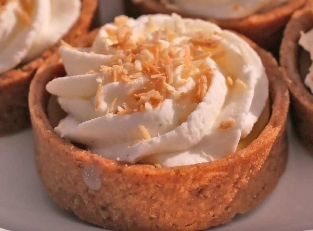 Cibo - coconut key lime tart