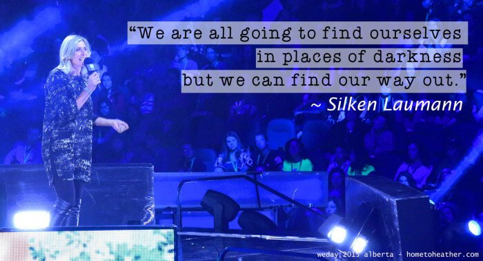 silken laumann weday quote