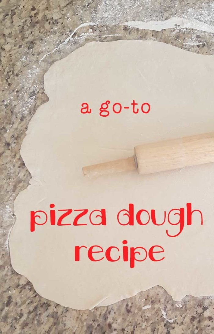 tried and true pizza dough recipe