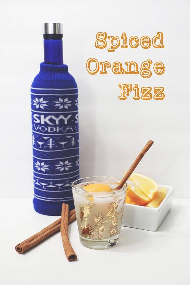 spiced orange fizz