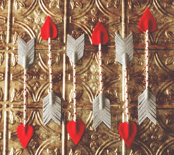 diy cupid arrows craft
