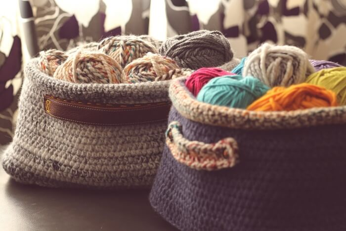 crochet stash basket pattern