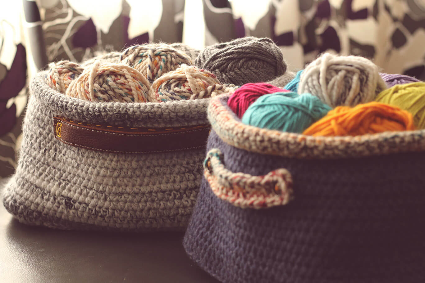 crochet oval basket – free pattern