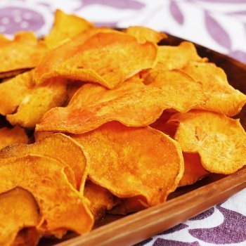 Oven Roasted Sweet Potato Chips