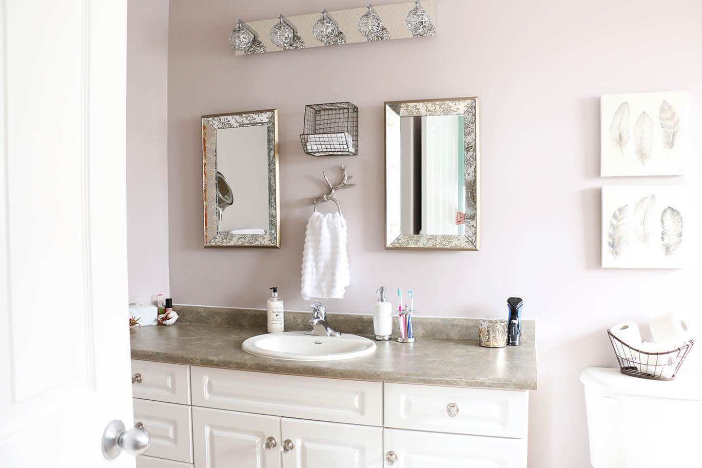 bathroom-makeover-paint