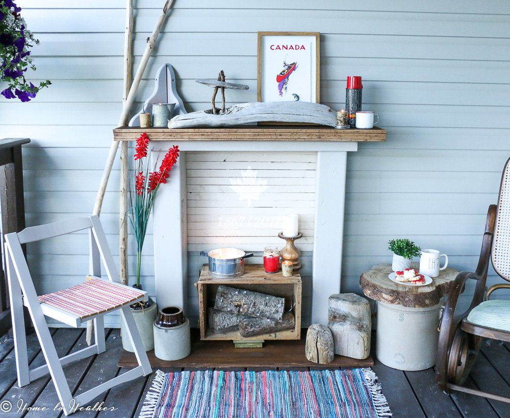 A Canadian DIY – The Faux Fireplace