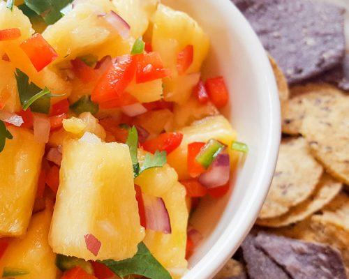 Smoked Pineapple Salsa