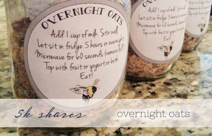 overnight oats slider