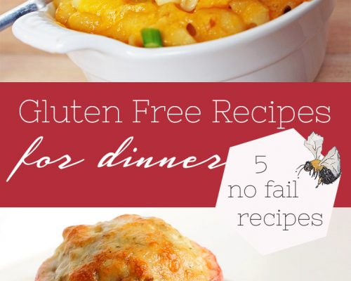 5 Gluten Free Recipes for Dinner