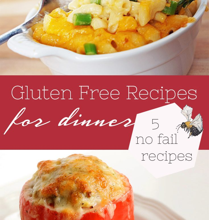 5 Gluten Free Recipes for Dinner