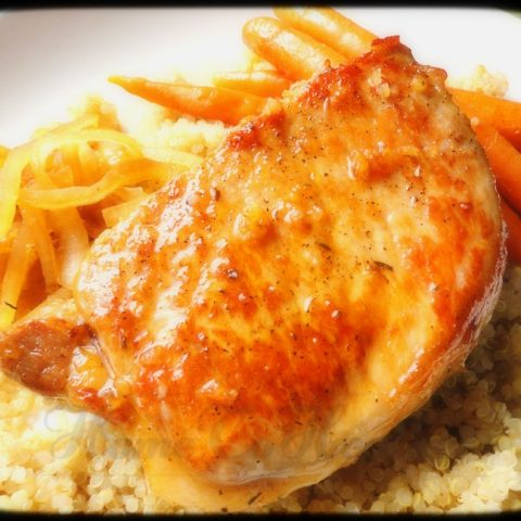 Glazed Baked Pork Chops
