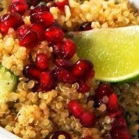 Citrus Pomegranate Quinoa Salad
