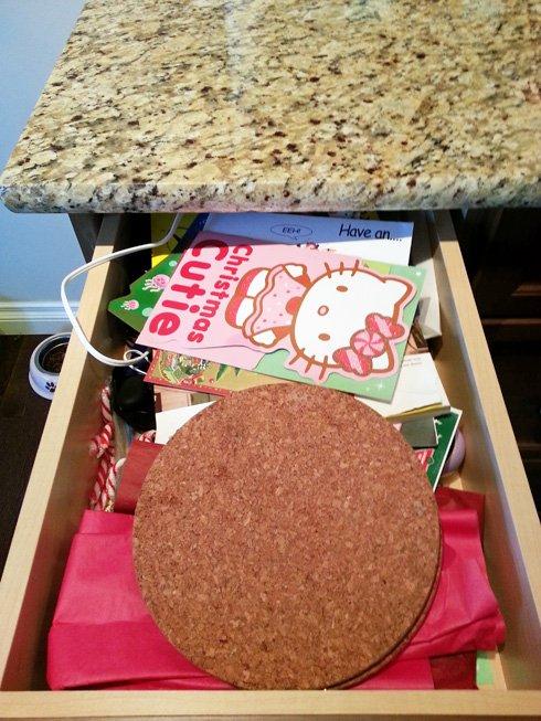 junk drawer organizaiton tips