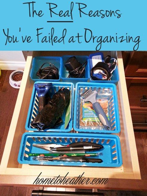 organizing life tips